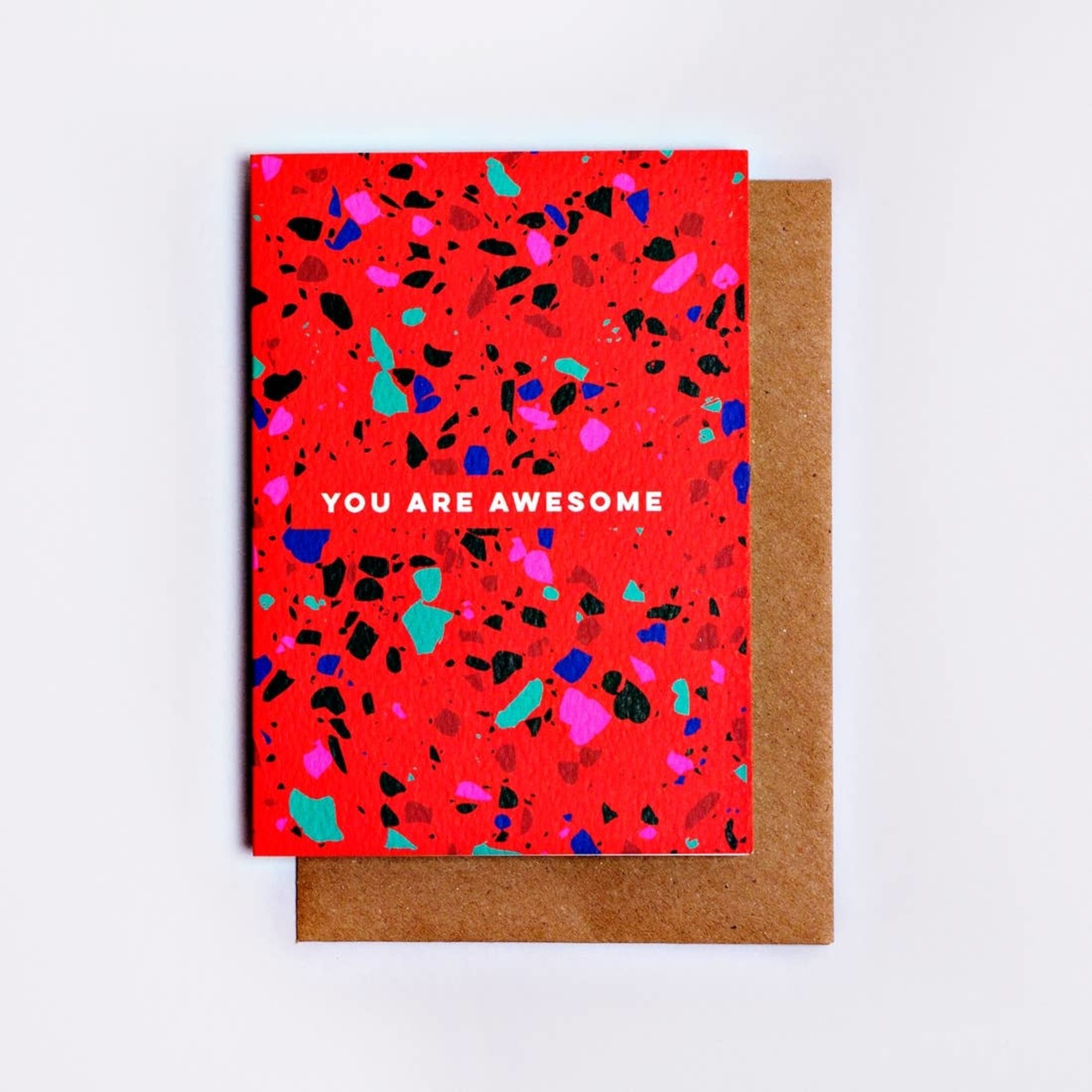 The Completist The Completist You Are Awesome Terrazzo