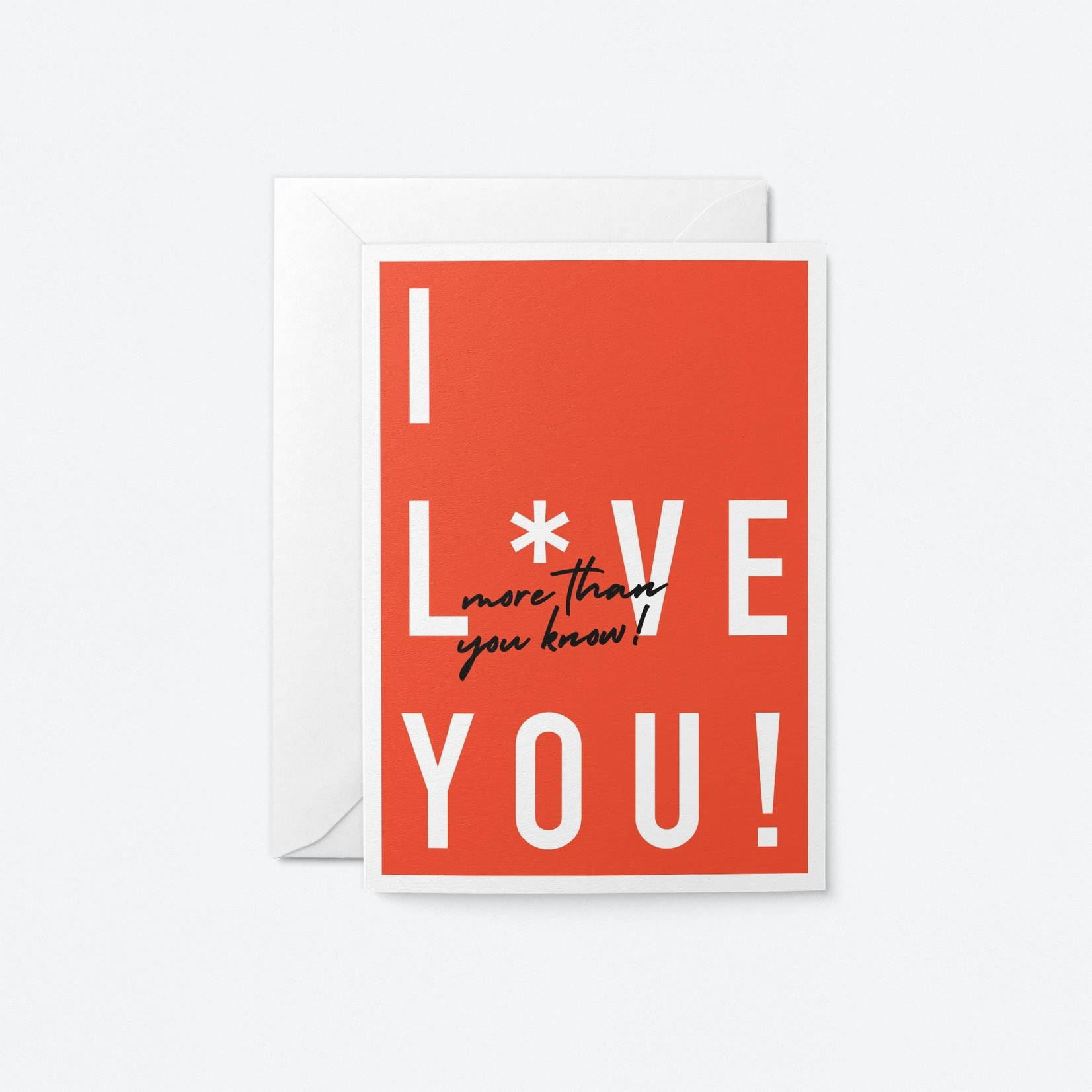 Graphic Factory Graphic Factory I Love You More