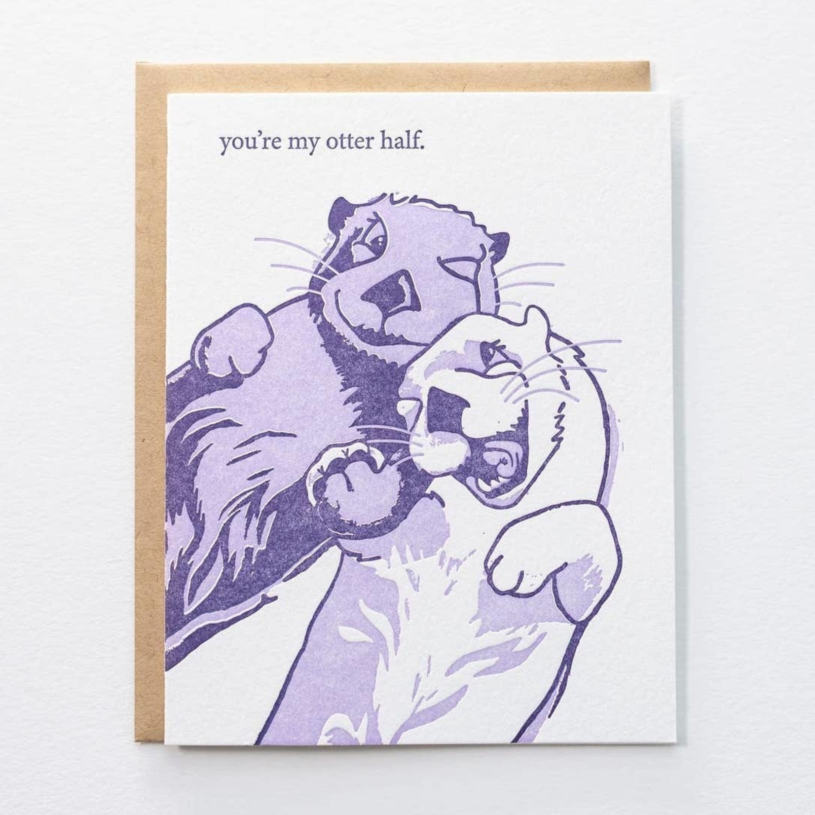 Pistachio Press Otter
