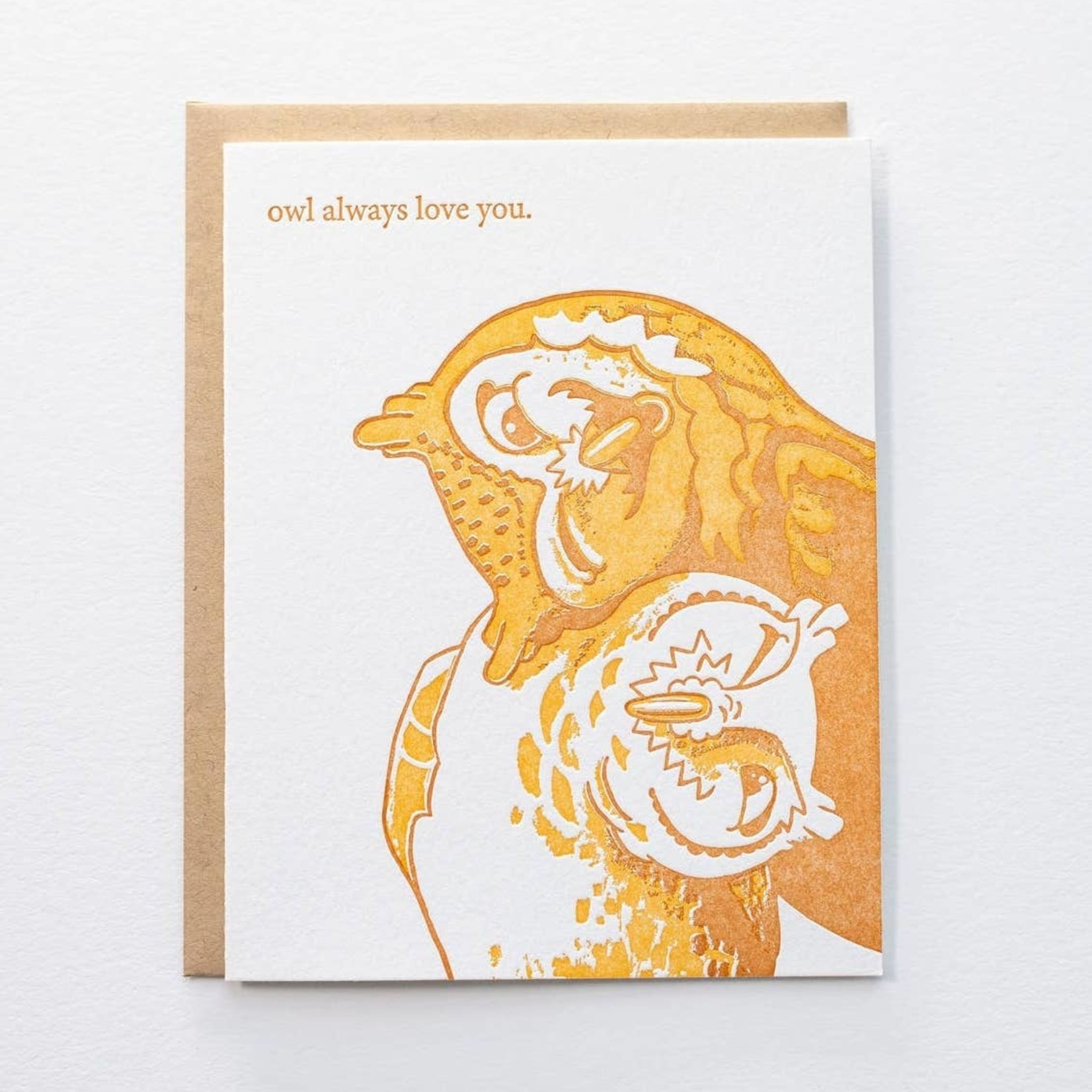 Pistachio Press Owl