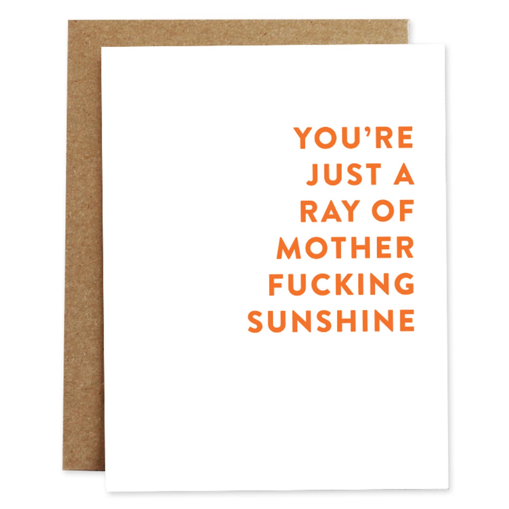 Rhubarb Mother Fucking Sunshine Friendship