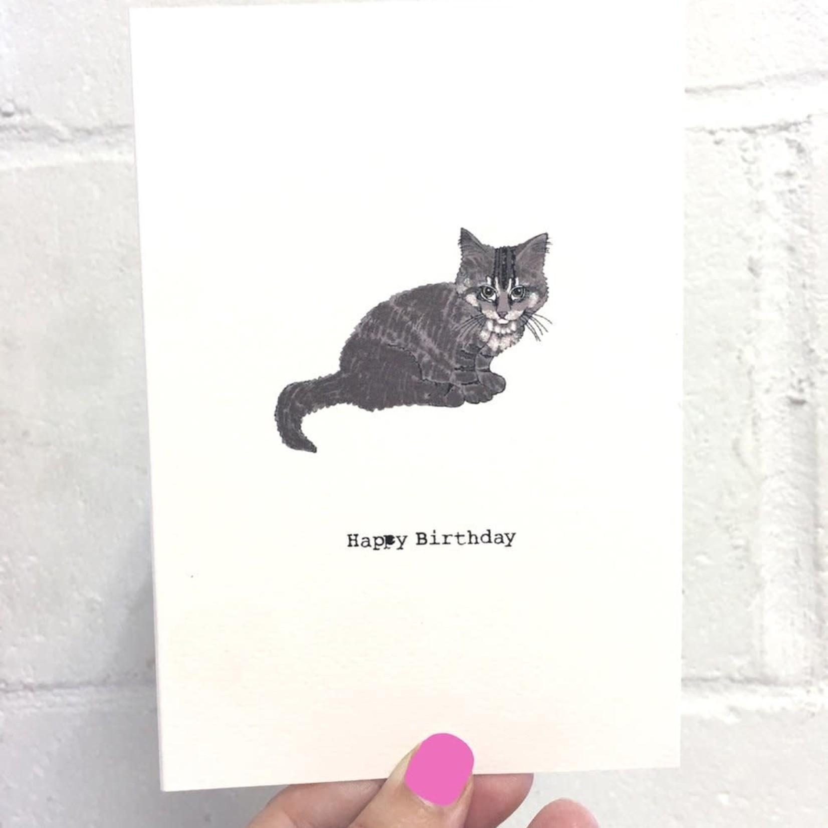 Rosie Wonders Birthday Cat Elvis