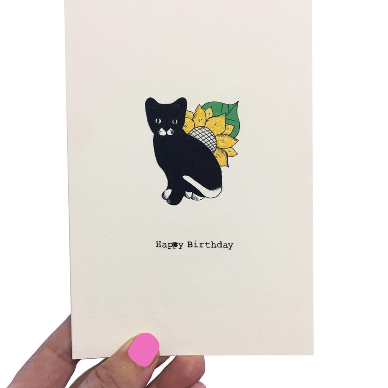 Rosie Wonders Birthday Black Cat