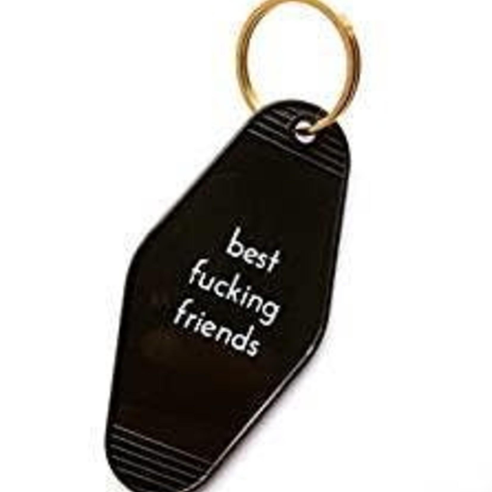 He Said She Said He Said Keychain Best Fucking Friends