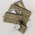 Baggu Baggu Flat Pouch Set  Honey Leopard