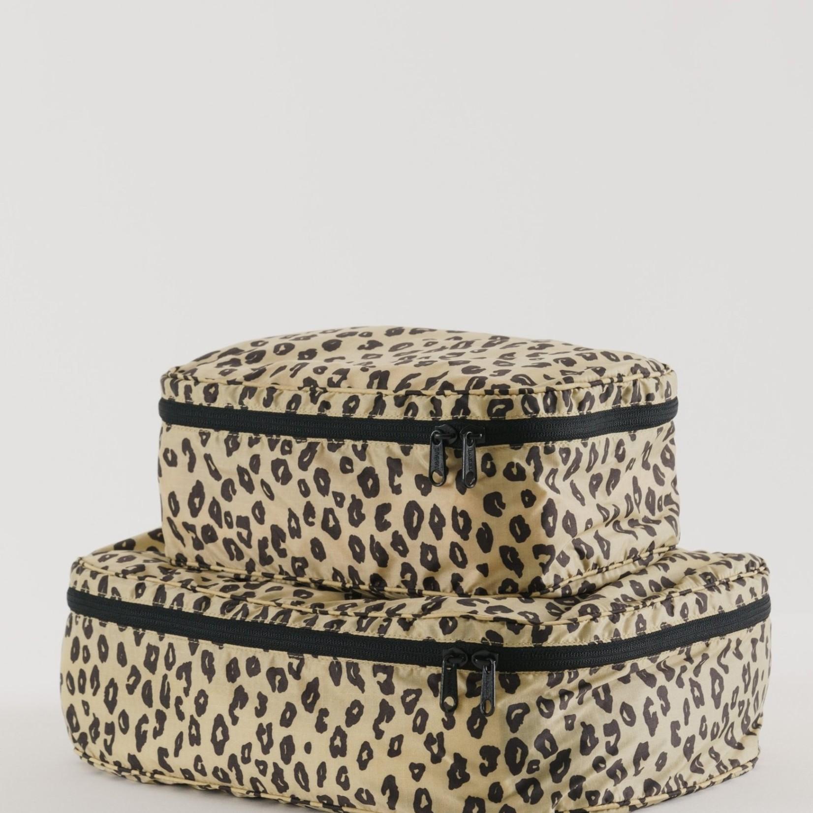 Baggu Baggu Storage Cube Set Honey Leopard