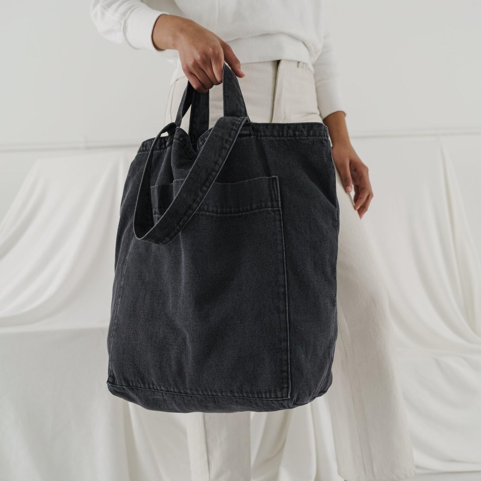 Baggu Baggu Giant Pocket Tote Washed Black