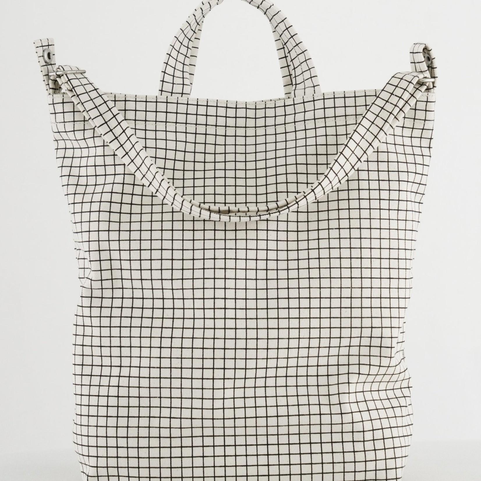 Baggu Baggu Canvas Duck Bag Natural-Grid