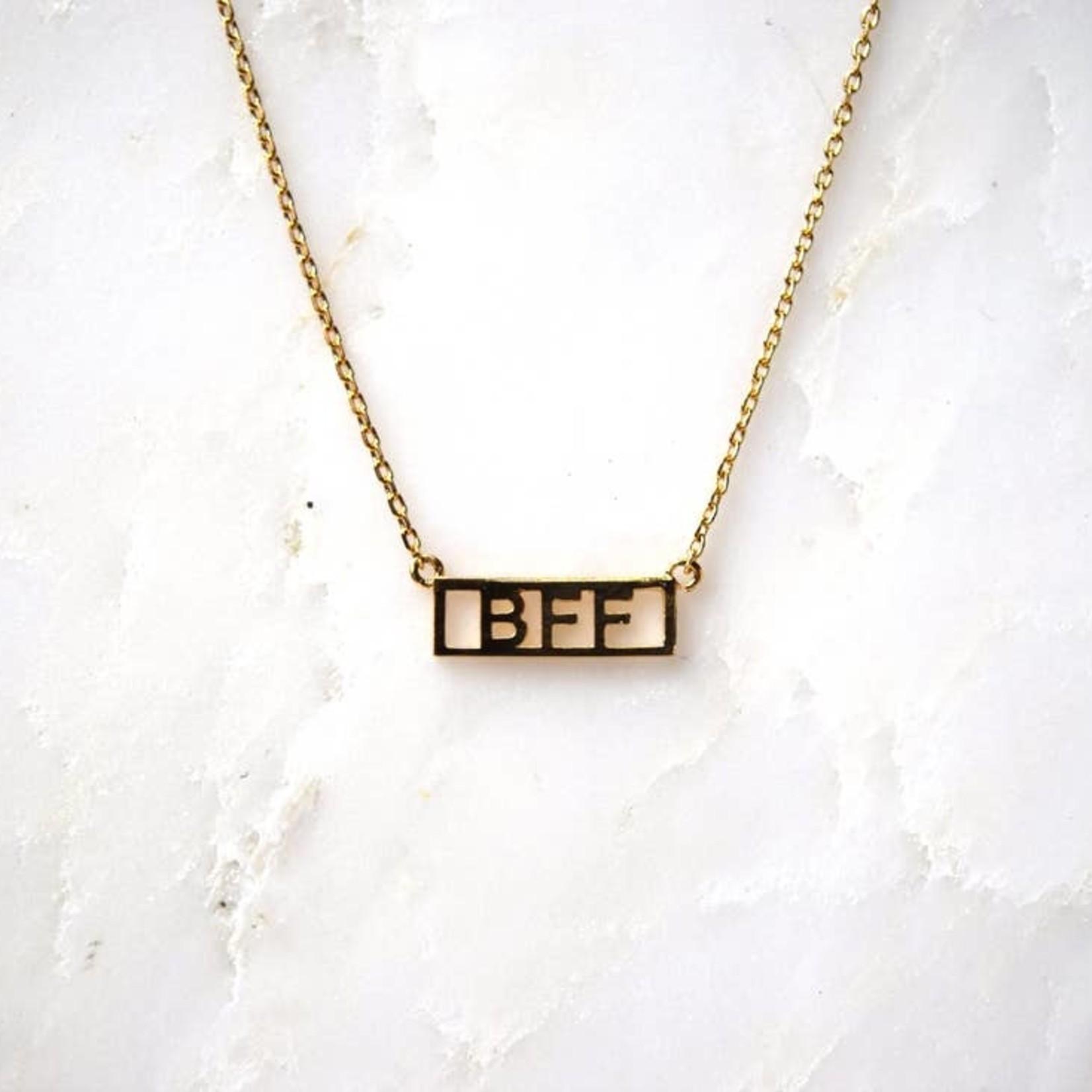 "He Said She Said He Said She Said Necklace 16""-18"" BFF"