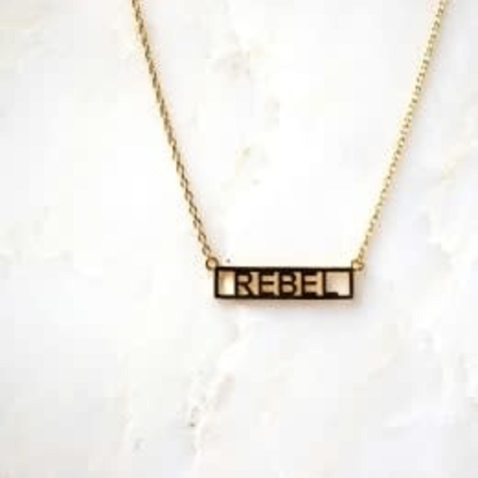 "He Said She Said He Said She Said Necklace 16""-18"" Rebel"
