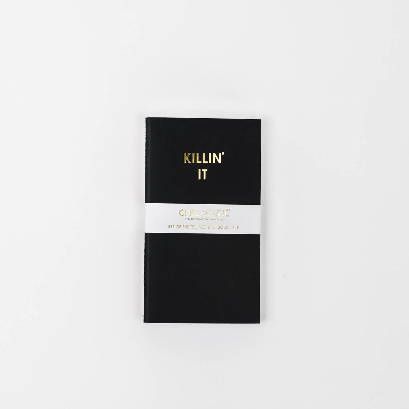 Chez Gagne Chez Gagne Mini Journal Set Killin' It