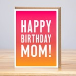 Huckleberry Huckleberry Birthday Ombre Mom