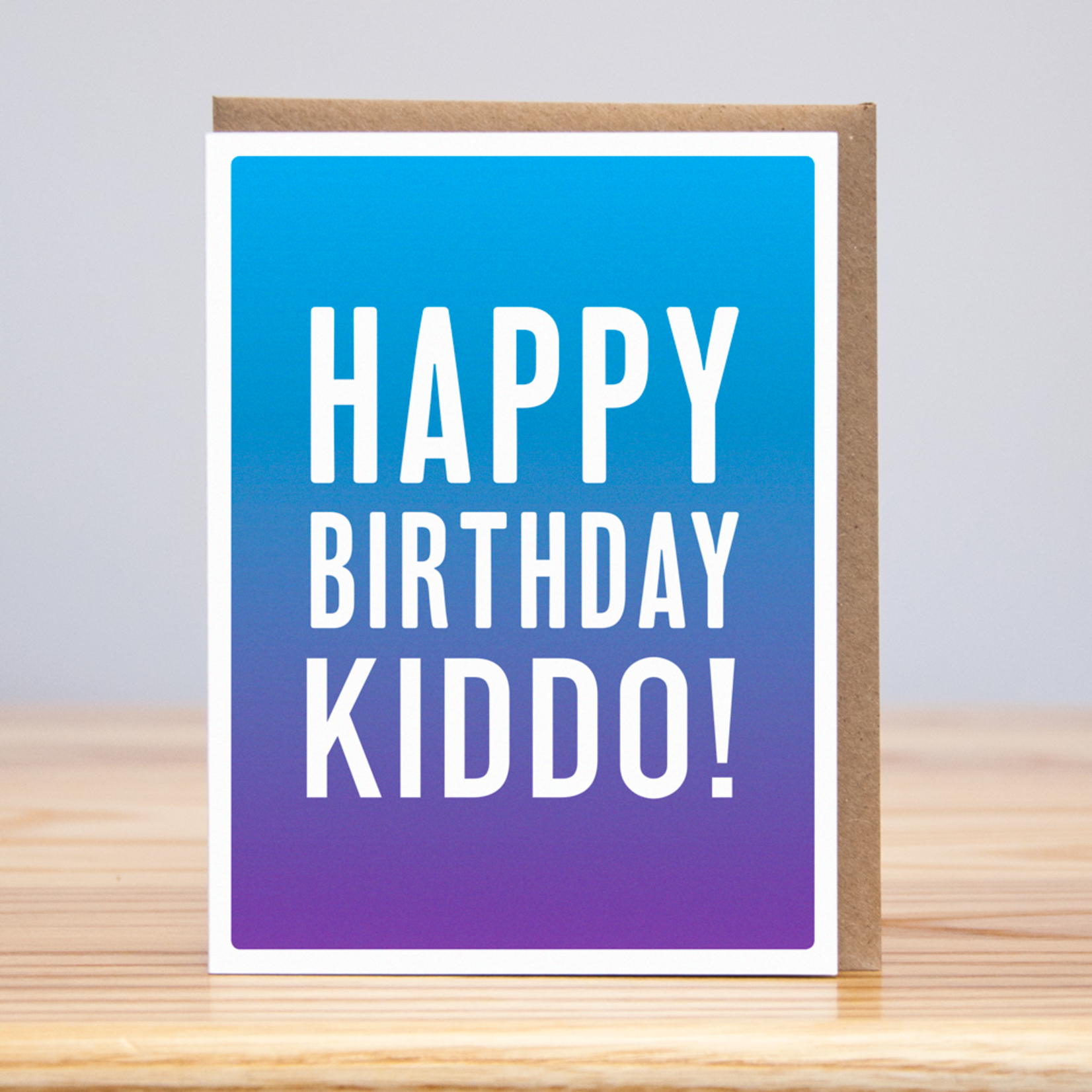Huckleberry Huckleberry Birthday Ombre Kiddo