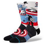 Stance Stance Mens Socks Captain America Marque  L (9-13)