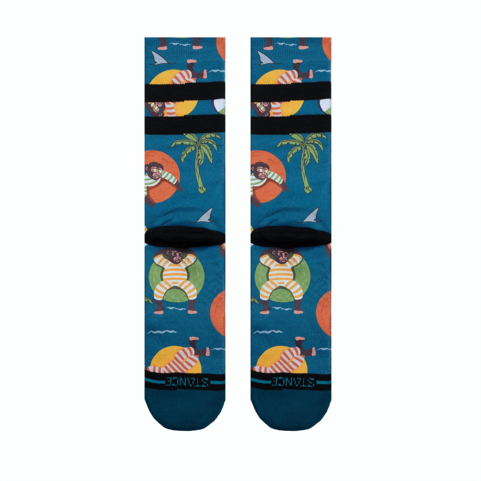 Stance Stance Socks Monkey Chillin L (Men 9-13 / Women 11-14)