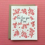 Lucky Bee Press Lucky Bee Roses We Love Mom