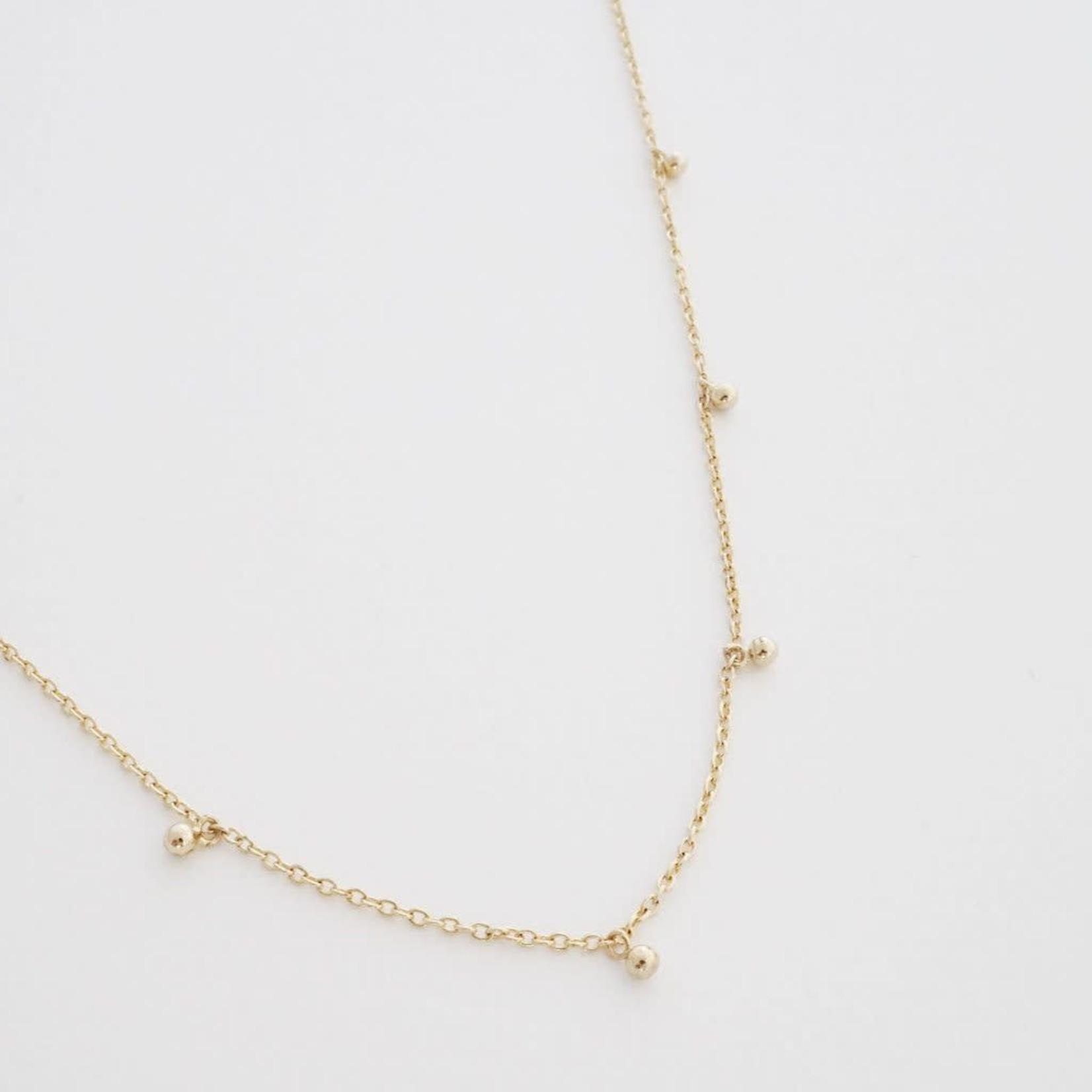 Honeycat Jewelry Honeycat Anna Charm Necklace