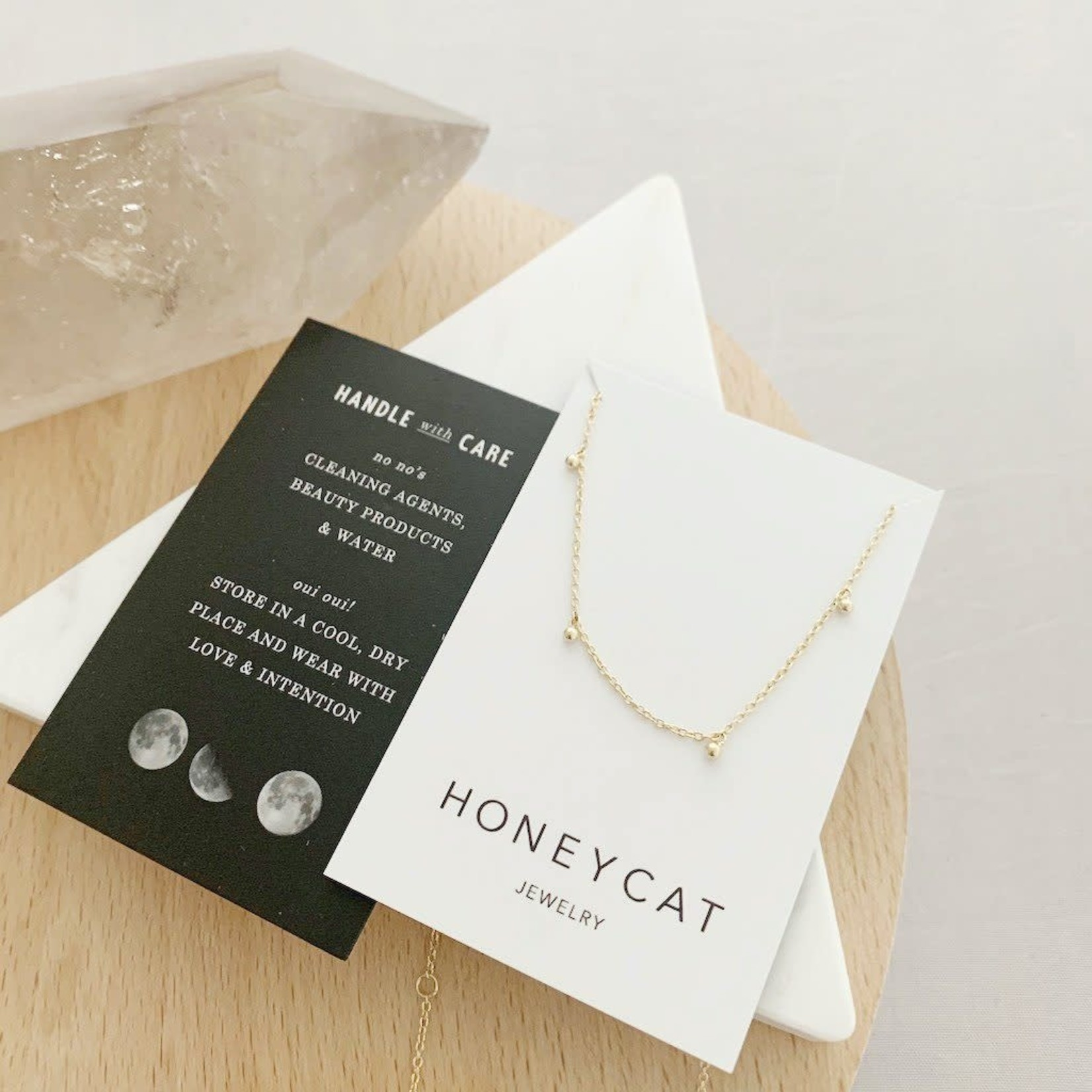 Honeycat Jewelry Honeycat Anna Charm Necklace