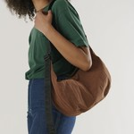 Baggu Baggu Medium Nylon Crescent Bag Brown