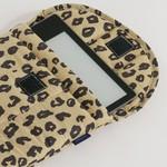 """Baggu Baggu Puffy Tablet Sleeve 8"""" Honey  Leopard"""