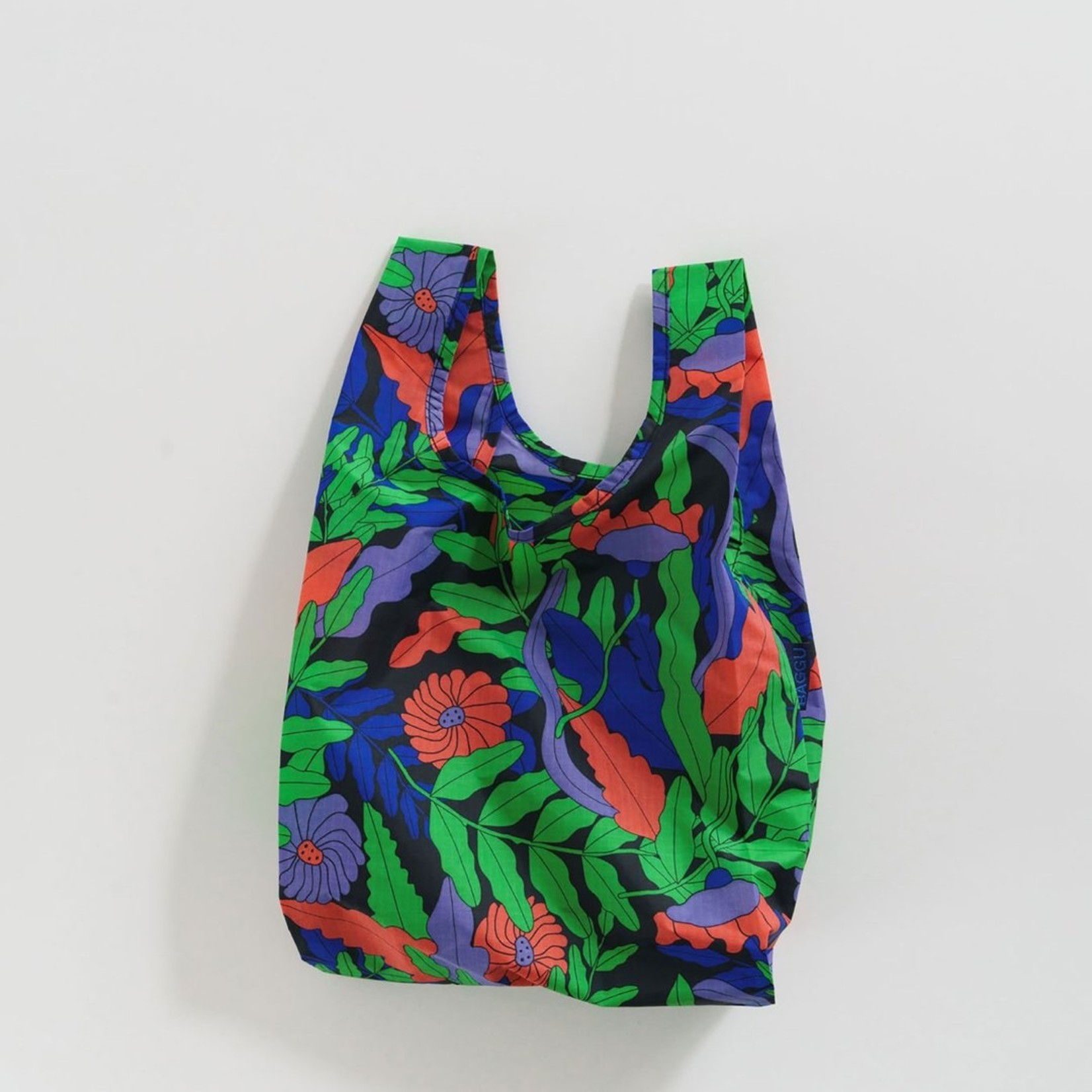 Baggu Baggu Reusable Bag Baby Midnight Fern