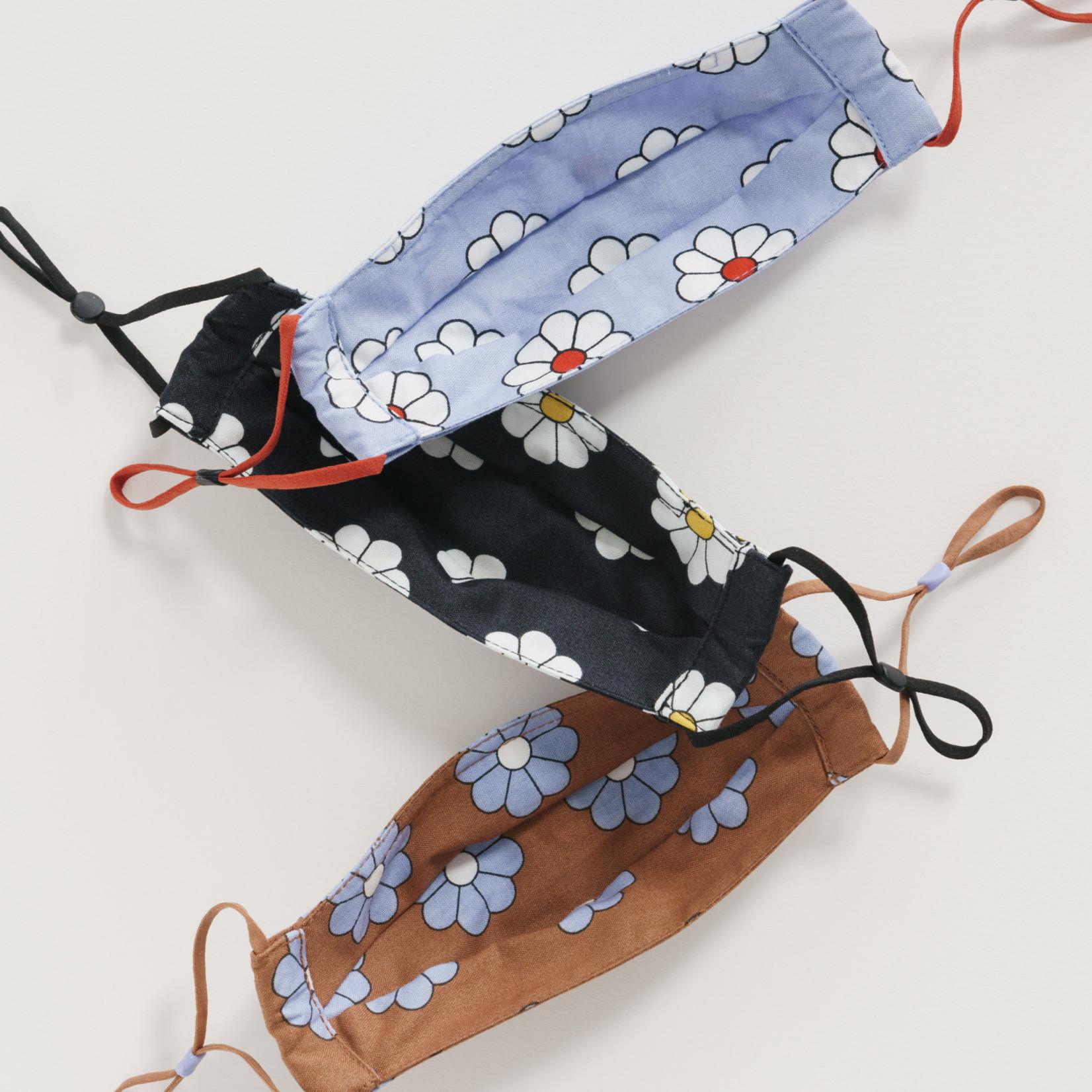 Baggu Baggu Kids' Fabric Mask Set of 3- Loop Daisy