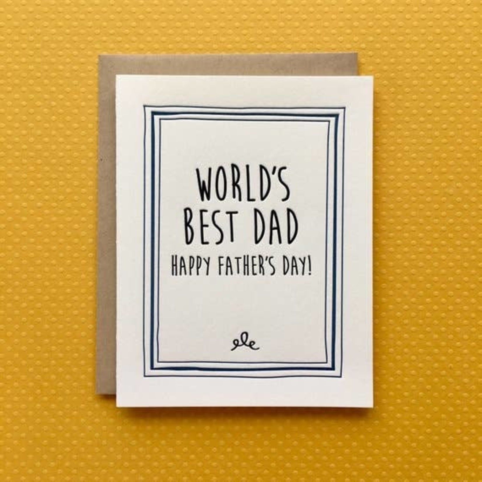 Lucky Bee Press Lucky Bee World's Best Dad