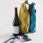 Baggu Baggu Reusable Wine Baggu Wavy Stripes Set of 3