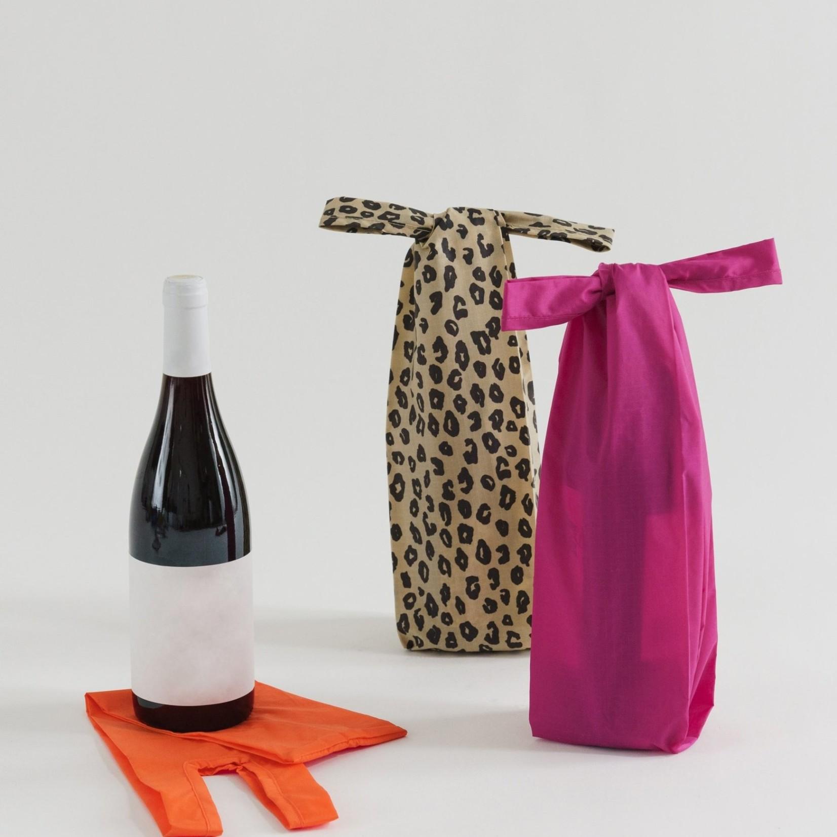 Baggu Baggu Reusable Wine Baggu Sunset Leopard Set of 3