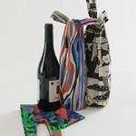 Baggu Baggu Reusable Wine Baggu Forest Floor Set of 3