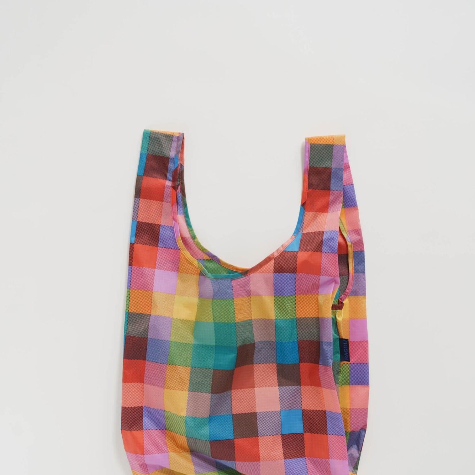 Baggu Baggu Reusable Bag Standard Madras No. 1