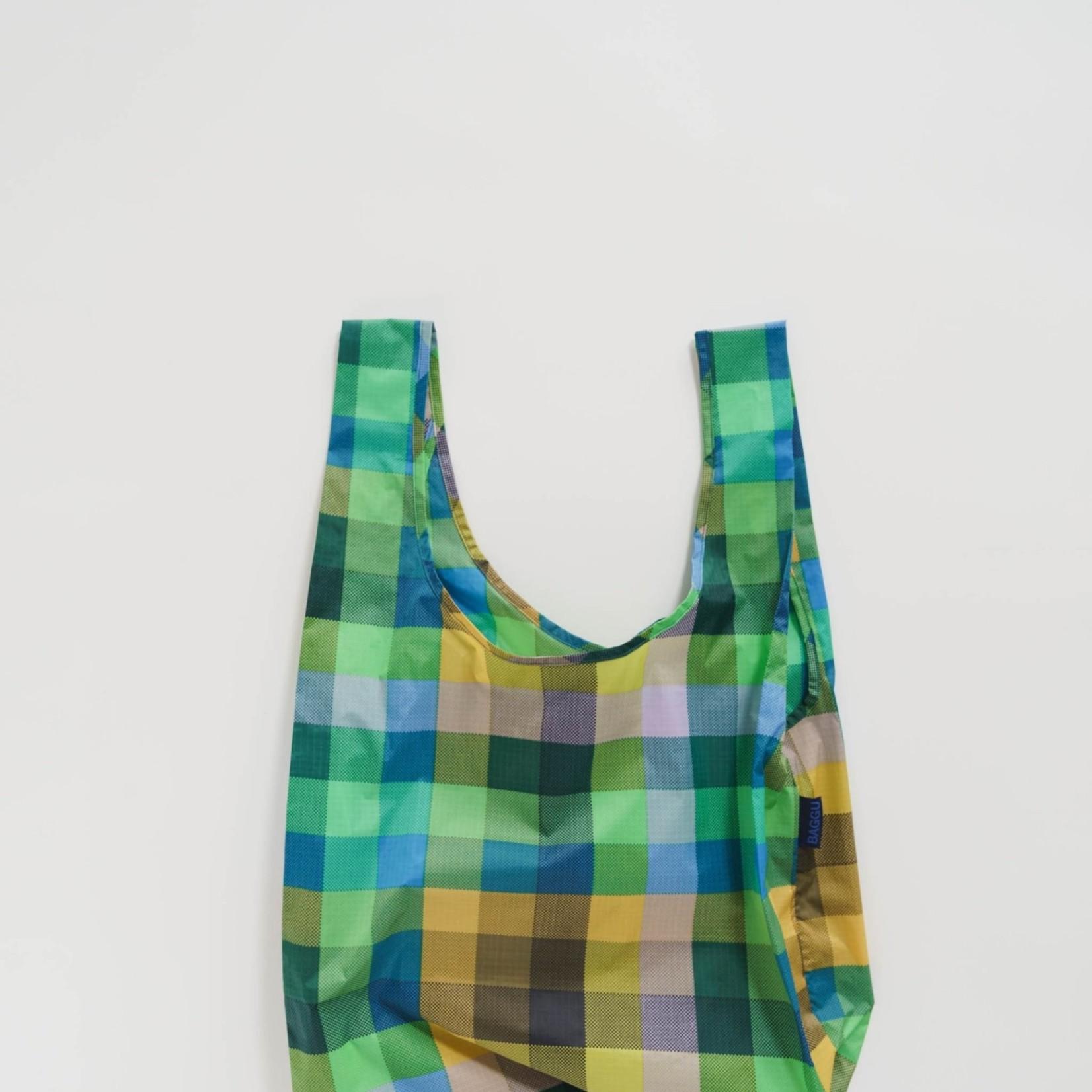 Baggu Baggu Reusable Bag Standard Madras No. 3