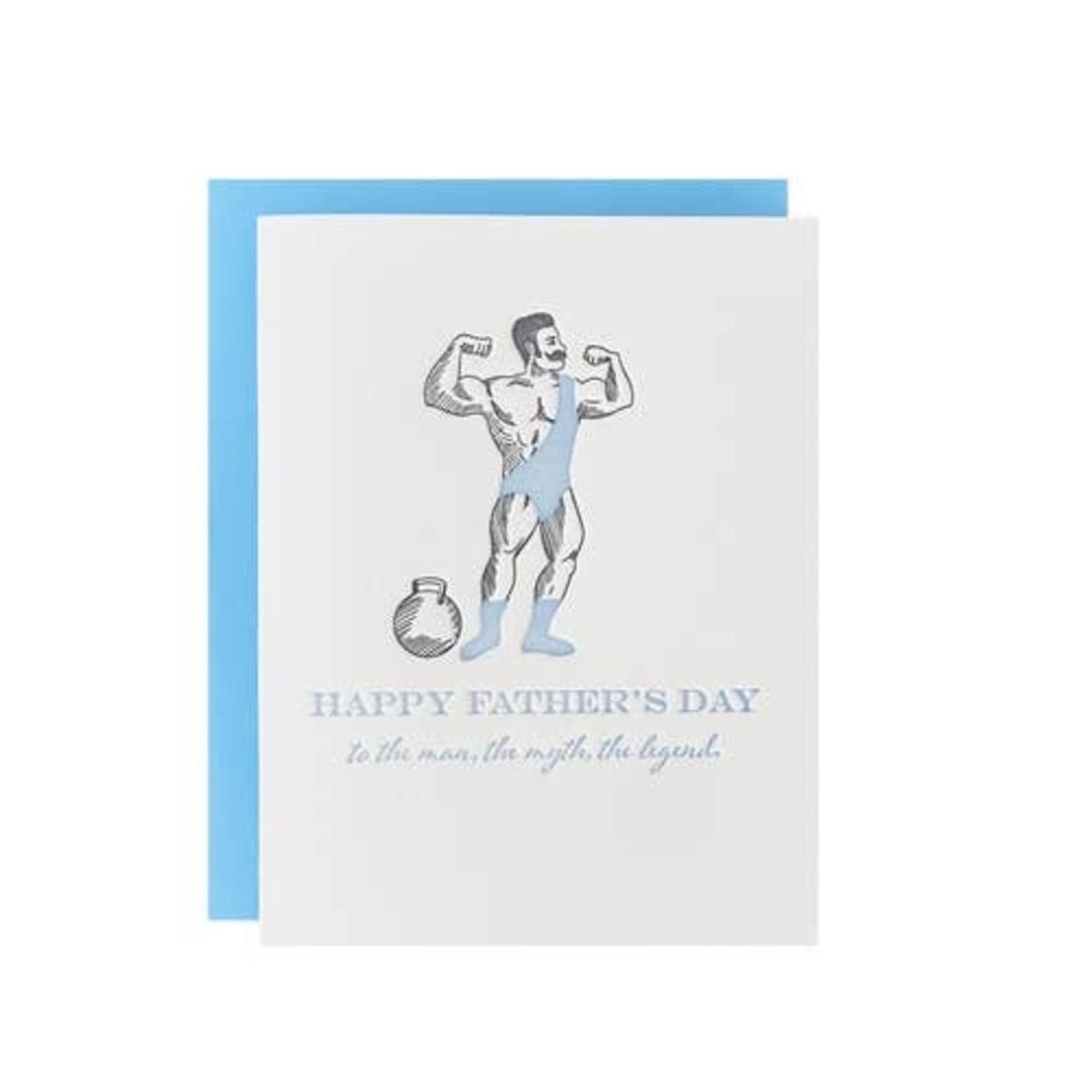 Riva Letterpress Man, Myth, Legend Father's Day
