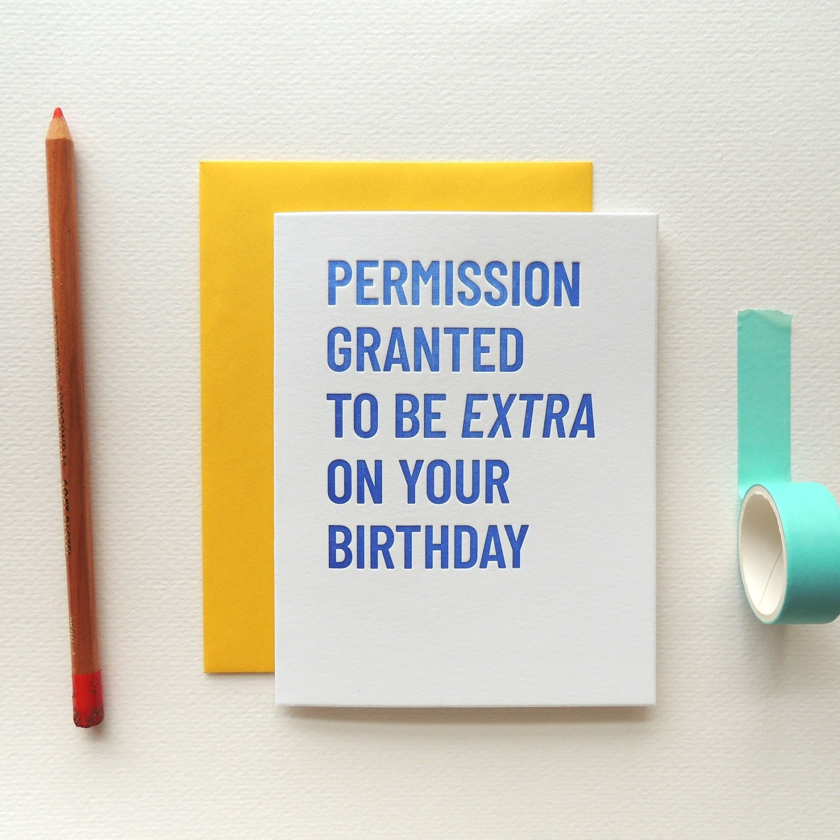 Harken Press Extra on Your Birthday