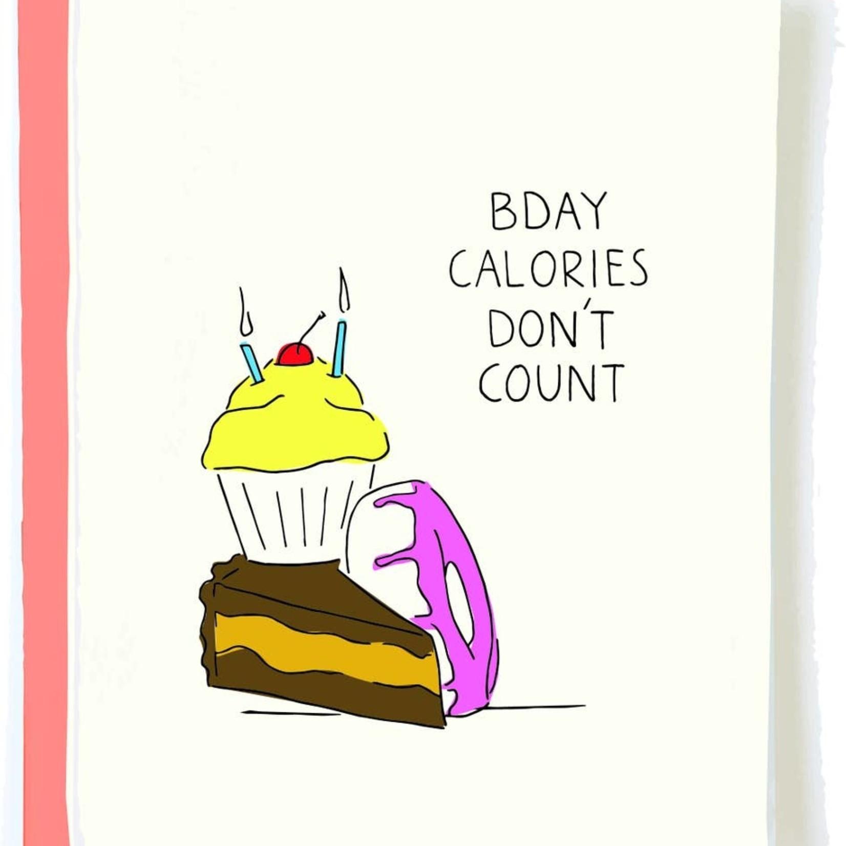 Pop + Paper Pop & Paper No Calories Birthday