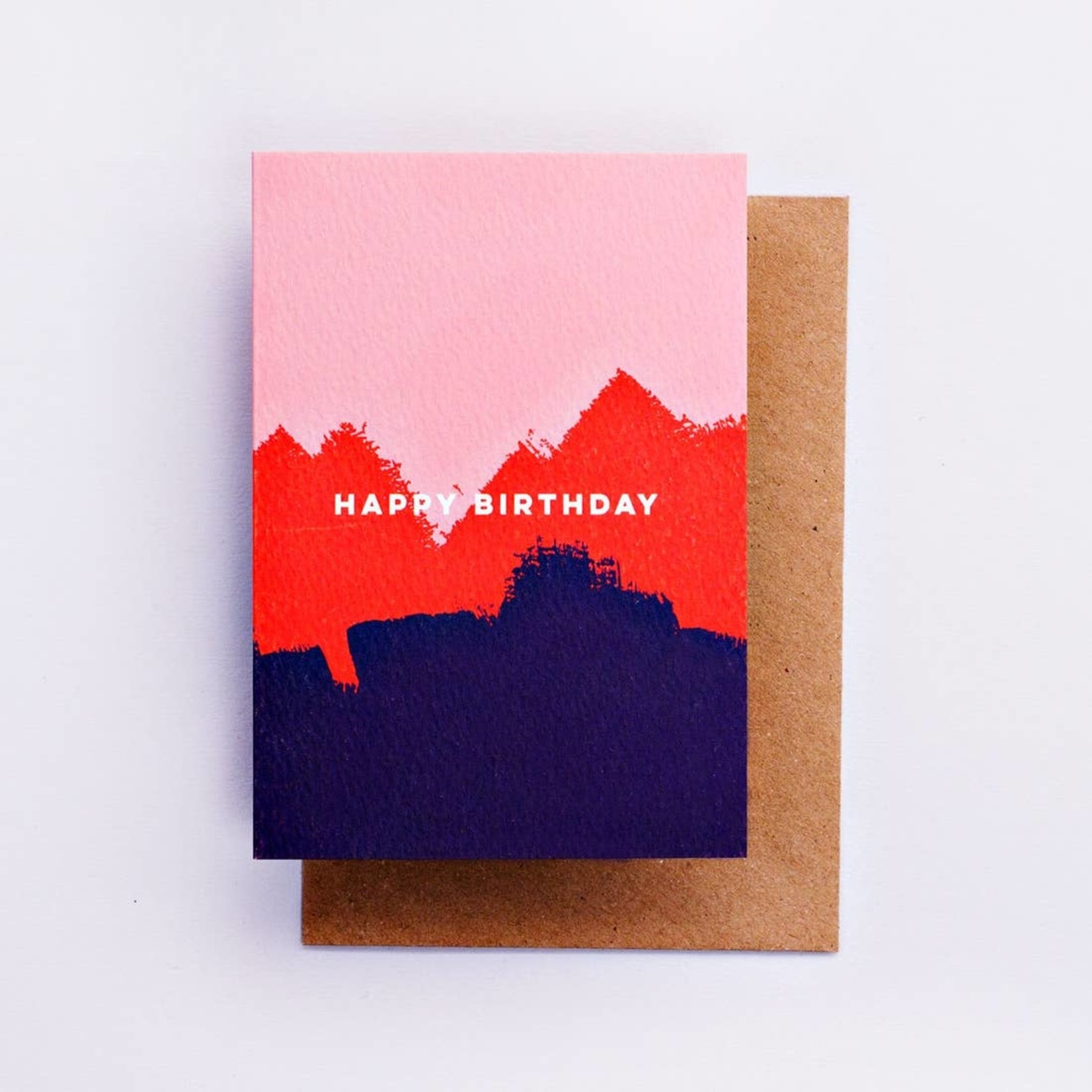 The Completist The Completist Pink Red Brush Birthday