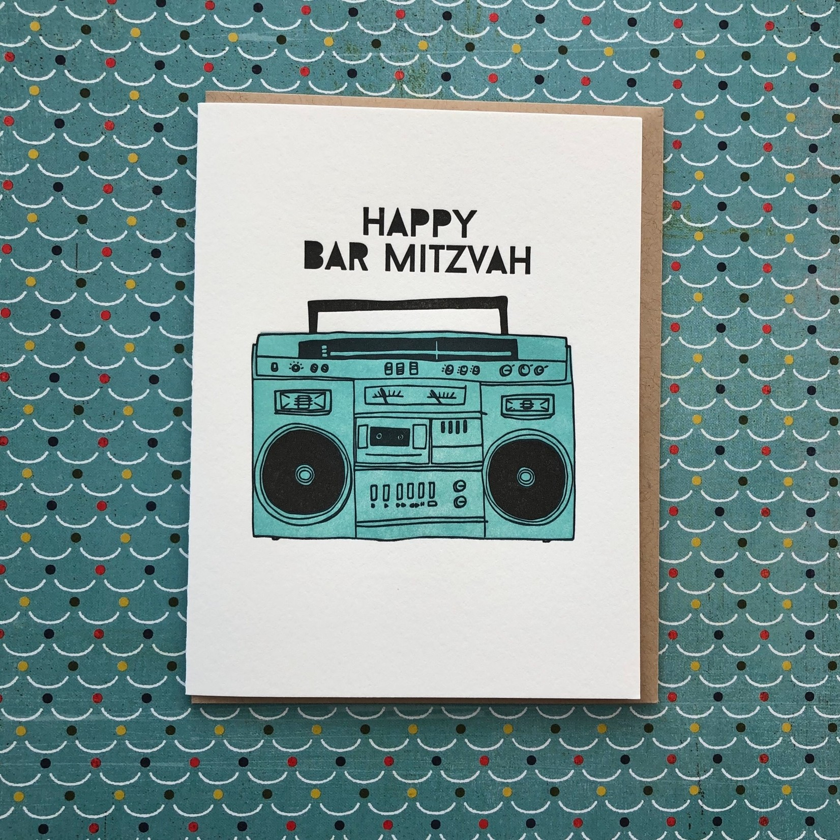 Lucky Bee Press Lucky Bee Bar Mitzvah Boombox