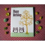 Lucky Bee Press Lucky Bee Happy Birthday Owl