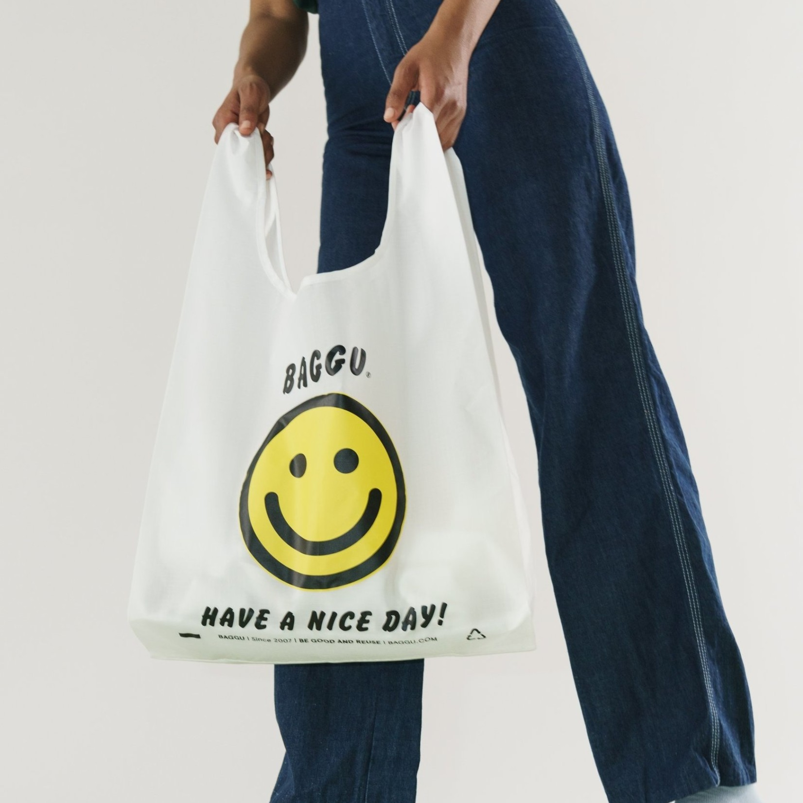 Baggu Baggu Reusable Bag Standard Thank You Happy
