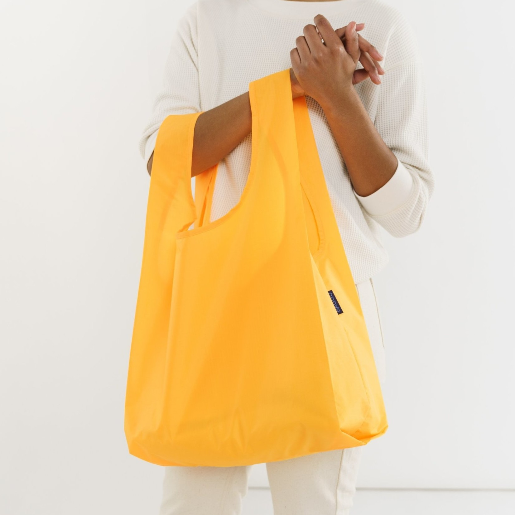 Baggu Baggu Reusable Bag Standard Electric Saffron