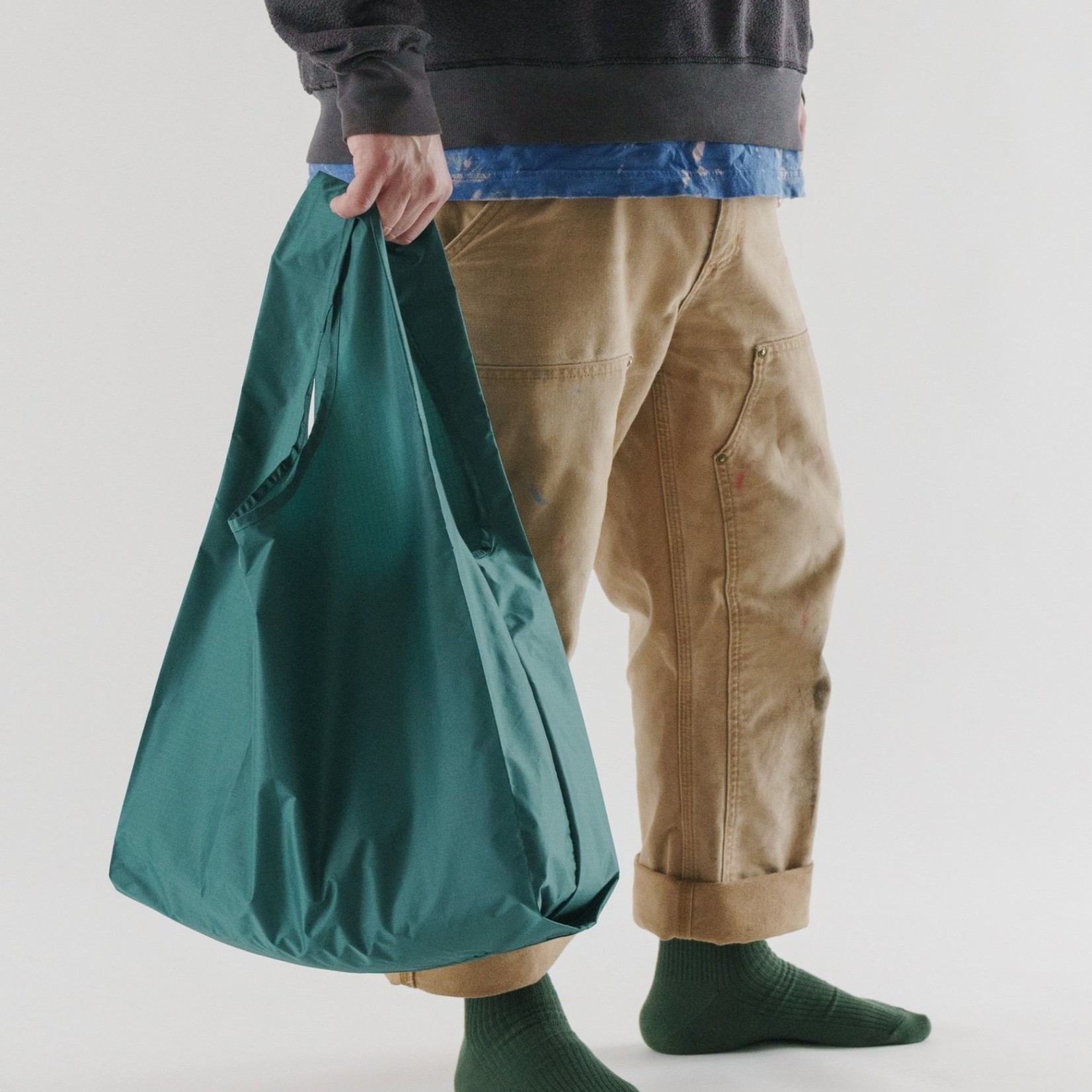 Baggu Baggu Reusable Bag Standard Malachite