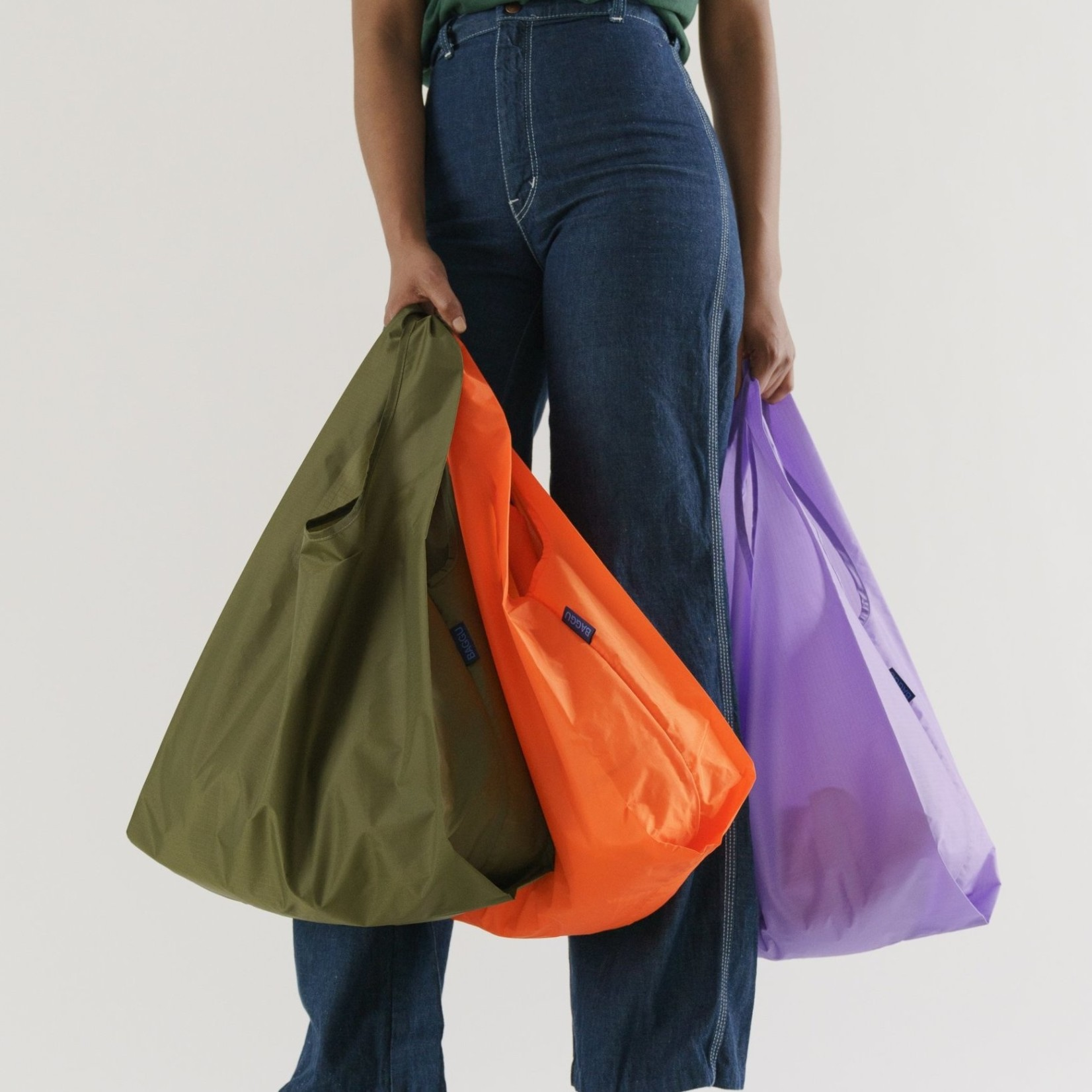 Baggu Baggu Reusable Bag Standard Meadow Set of Three