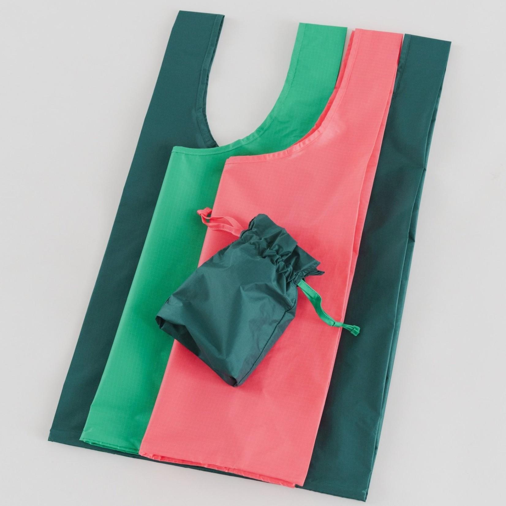 Baggu Baggu Reusable Bag Standard Watermelon Slice Set of Three