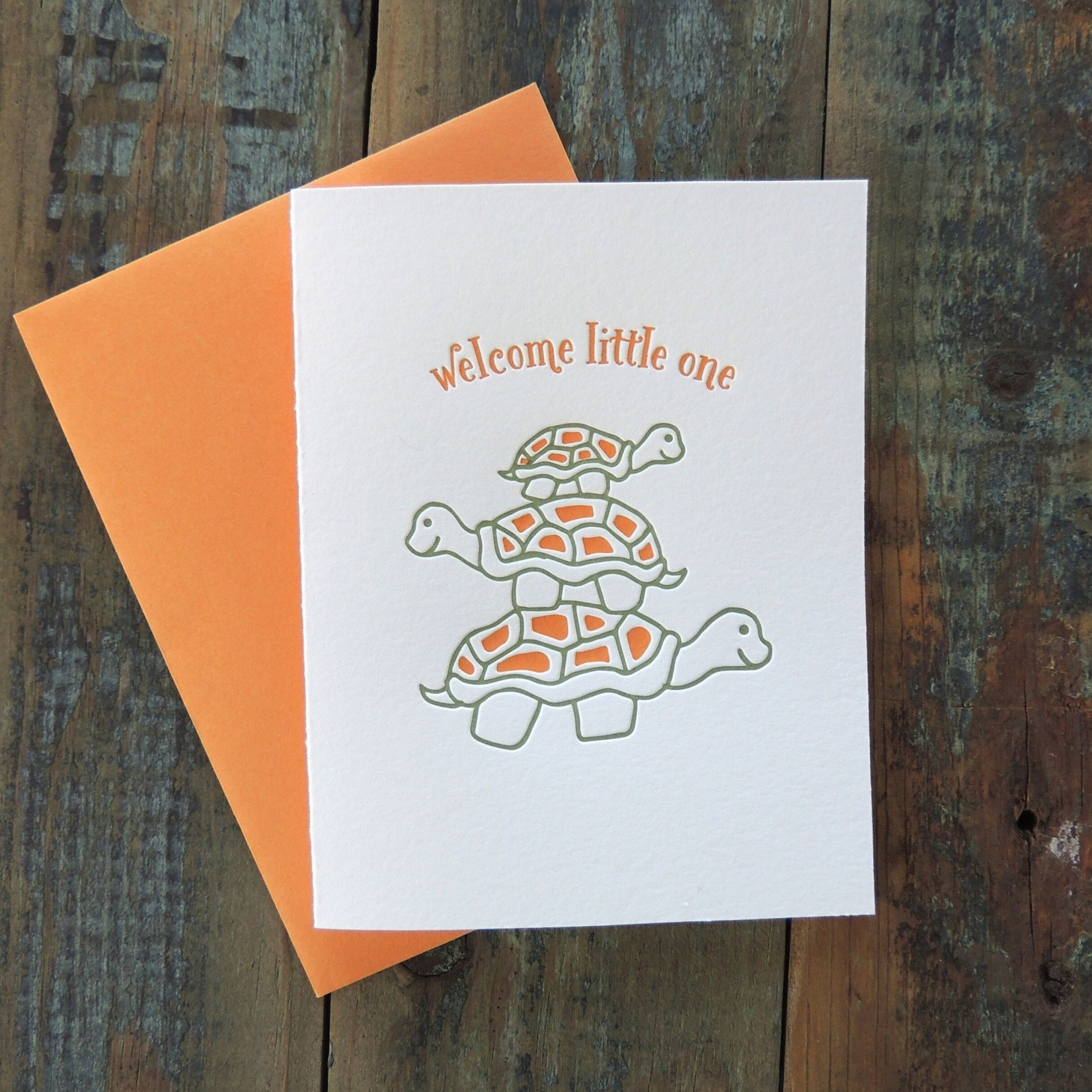 Harken Press Welcome Turtles