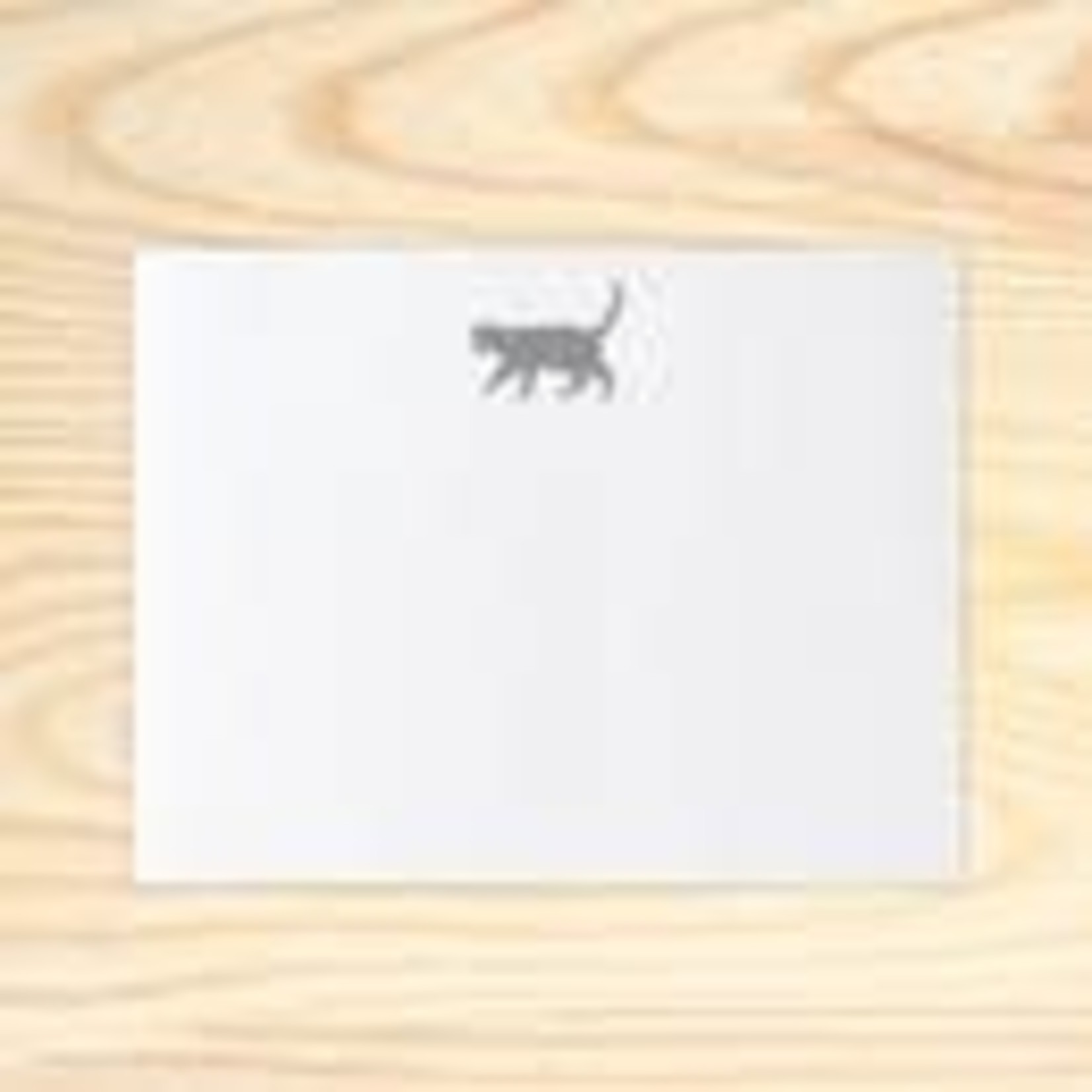 Huckleberry Huckleberry Stationery Set of 12 Cats