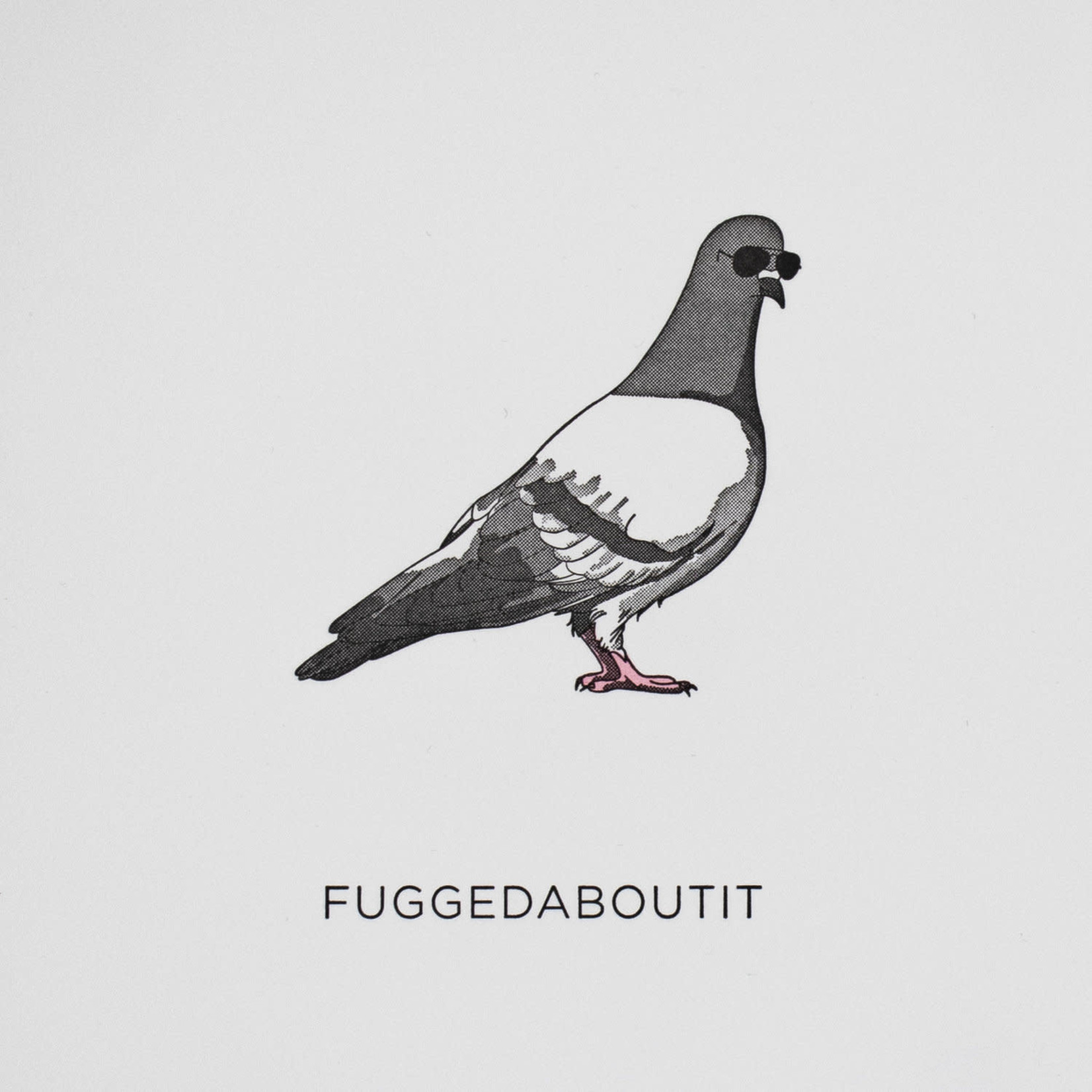 Quick Brown Fox Quick Brown Fox Stationery Pigeon/Fuggedaboutit