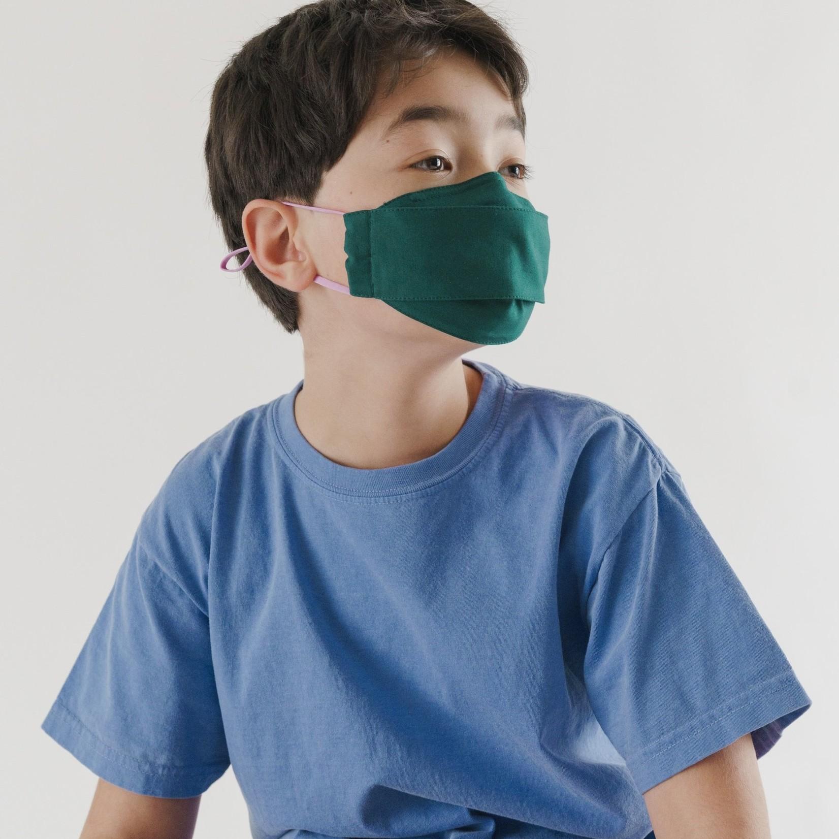 Baggu Baggu Kids' Fabric Mask Set of 3- Loop Juniper
