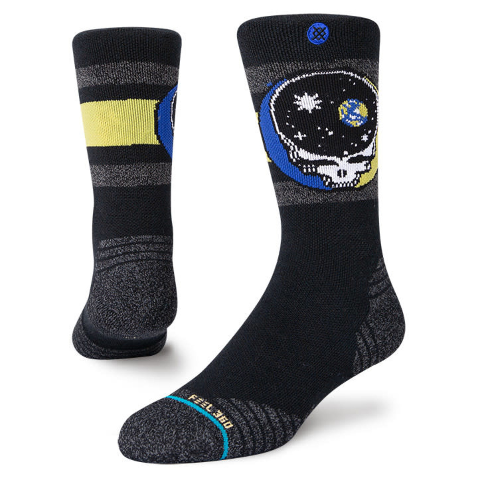Stance Stance Mens Sock  Space Your Face L (9-13)