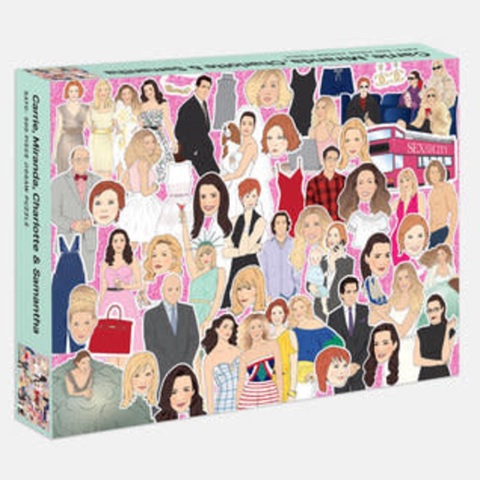 Rizzoli 500 Piece Carrie, Miranda, Charlotte & Samantha Jigsaw Puzzle