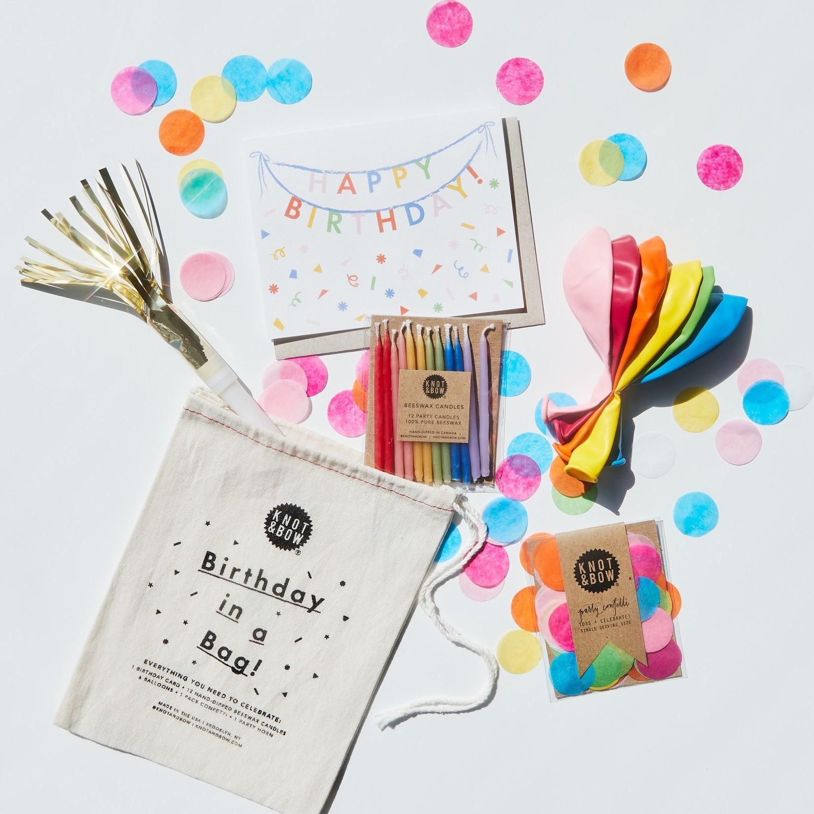 Knot & Bow Knot & Bow Birthday in A Bag